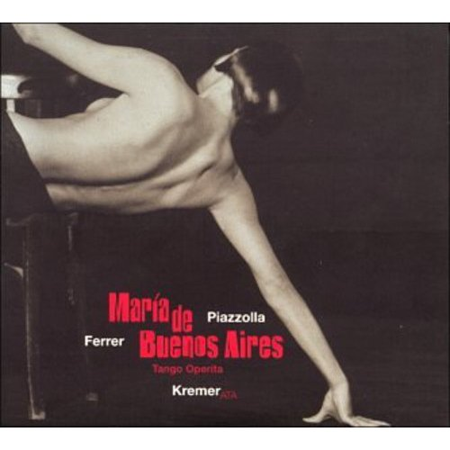 "This set was nominated for the 1999 Grammy Award for ""Best Opera Recording.""<BR>Although this recording of 'Mar������a de Buenos Aires' will probably be found in your store's opera section, it might be more at home elsewhere.  Described as a ""tango operita"" by its creators, this work is more closely allied with cabaret and musical theater styles.  Mar������a is the tango personified: born in the suburbs of Buenos Aires, she is drawn into the city's lowlife; after dying there, her shadow is condemned to roam the streets.  The story is told in a series of flashbacks and vignettes--the Goblin narrates, and it is he who finally effects Mar������a's redemption by allowing her to bear a child, also named Mar������a.<BR>Gidon Kremer and his Kremerata Musica play this music with an obvious devotion and an earthy elegance appropriate to the music.  Argentinean singers Julia Zenko (Mar������a) and Jairo (all other vocal roles except the Goblin) sing and speak their roles with ease, giving no hint of the fact that they joined this production just a week before it began rehearsals.  Librettist Horacio Ferrer rounds out the ensemble in the spoken role of the Goblin, beginning and ending the tale of Mar������a with a worldly, aged tone as well as participating in the drama in between."