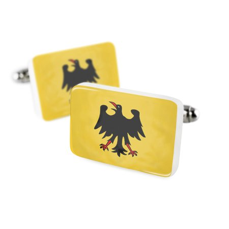 Cufflinks The Holy Roman Empire  Until 1401  Flagporcelain Ceramic Neonblond
