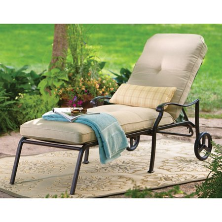 Better homes gardens chaise loung for Better homes and gardens hillcrest outdoor chaise lounge
