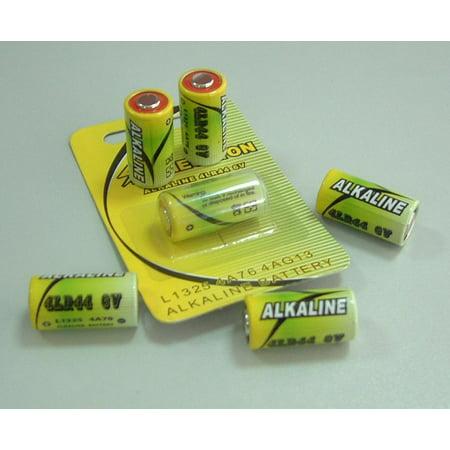 6v 10 Mile Fence - Dog Shock / Training Collar Batteries 4LR44  6V Alkaline PX28A, A544 - 10 Pack + FREE SHIPPING!