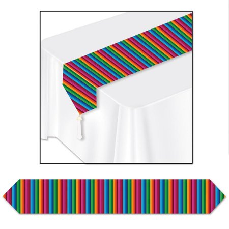 (12ct) Cinco de Mayo Party Fiesta Table Runner - Fiesta Table Runner