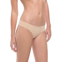 commando women's solid thong ct01 true nude md/lg