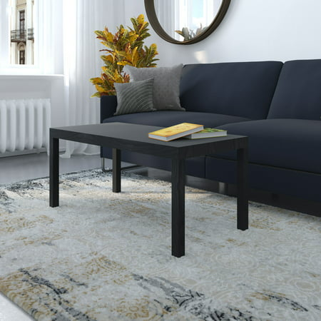 DHP Rectangular Coffee Table, Multiple Colors (Coffee Table Converts To Tv Dinner Table)