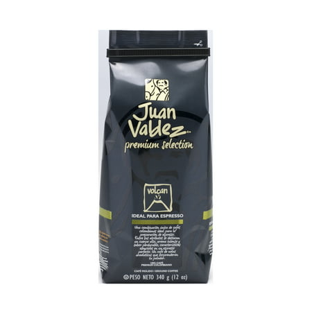 Valdez Arm - Juan Valdez Premium Selection Volcan Ground Coffee, 12 Oz