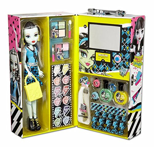 Monster High Fashion Doll Case 6-LED light up mirror with...