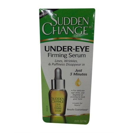 Sudden Change Under Eye - Sudden Change Under-Eye Firming Serum, .23 oz