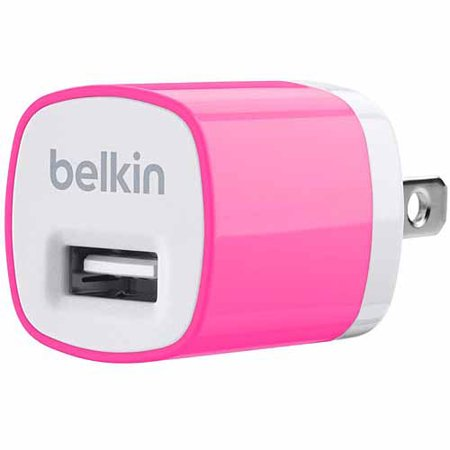 Belkin Mobile MIXIT USB Home Charger, Pink