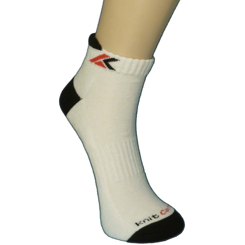 Knit Comfort Men's No Show Tab Socks,3 Pack