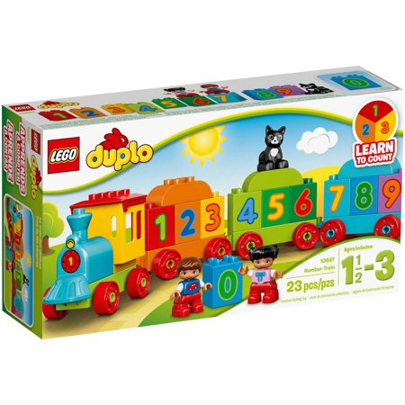 Click here for LEGO DUPLO My First Number Train 10847 prices