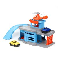 Deals on Green Toys Parking Garage with 3 Vehicles
