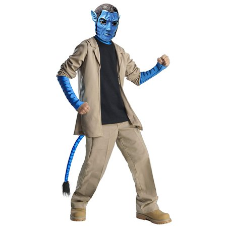 Avatar Child's Deluxe Costume And Mask, Jake Sully Costume - Costume D'halloween Avatar