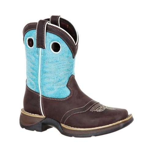 "Children's Durango Boot DBT0186C Lil' Rebel Little Kid 7"" Saddle Boot by Durango"