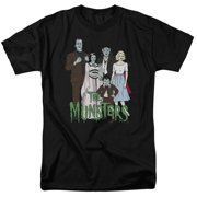 The Munsters - The Family - Short Sleeve Shirt - XX-Large