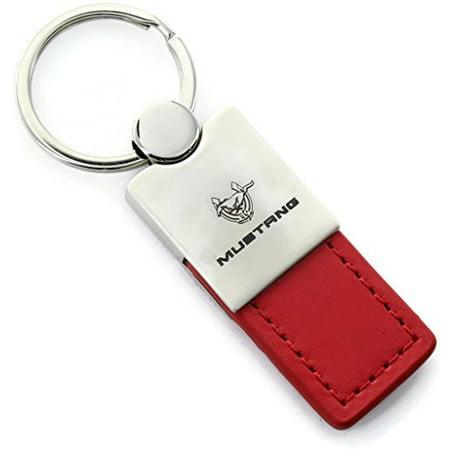 Ford Mustang 45th Anniversary Keychain & Keyring - Duo Premium Red - Anniversary Duo
