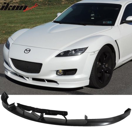 Fits 04-07 Mazda RX8 RX-8 4Dr OE Style Front Bumper Lip Spoiler - Urethane PU