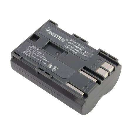 Insten BP-511 BP-511A Li-Ion Battery For Canon EOS 50D 40D 30D 20D 20Da 10D 5D 300D PowerShot G1 G2 G3 G5 G6
