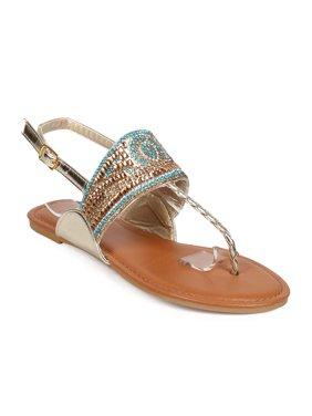 9007d6546 HOTSOLES Girls Sandals - Walmart.com