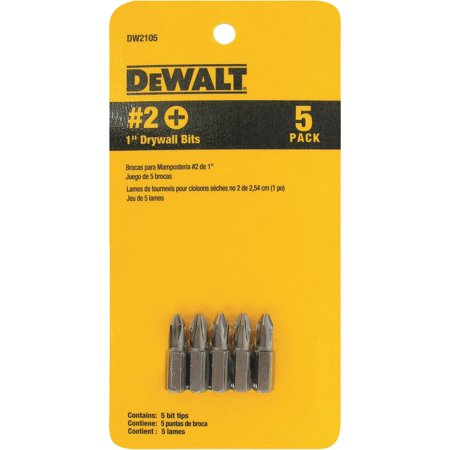 5-Piece Drywall Screwdriver Bit Set ()