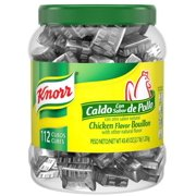 Product of Knorr Chicken Flavor Bouillon Cubes, 112 ct.