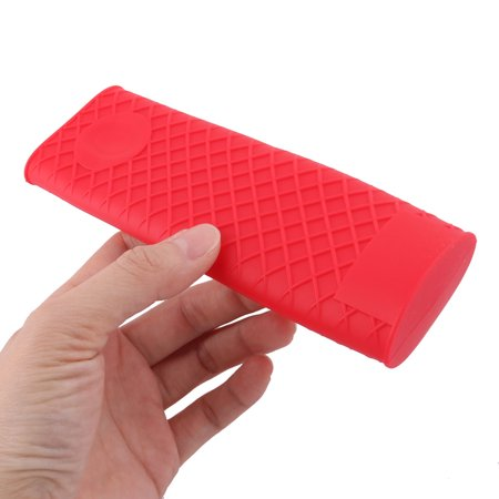Silicone Hot Handle Holder Metal Cookware Handles Sleeve Grip Handle Covers Red - image 2 of 3