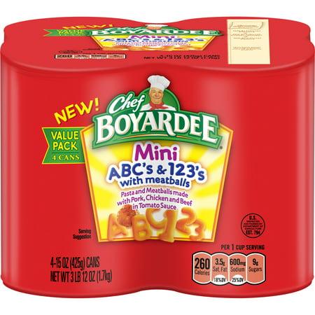 (3 pack) Chef Boyardee Mini ABC