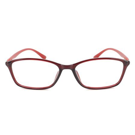 3543a764a8 Eye Buy Express Prescription Glasses Mens Womens Orange Bold Rounded  Rectangular Translucent Reading Glasses Anti Glare grade - Walmart.com