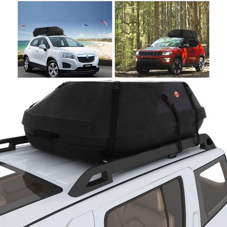 Car Roof Luggage Carrier Waterproof Heavy Duty Top Cargo Bag Box Easy To