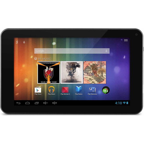 "Refurbished Ematic with WiFi 7"" Touchscreen Tablet PC Featuring Android 4.1 (Jelly Bean) Operating System, Black"