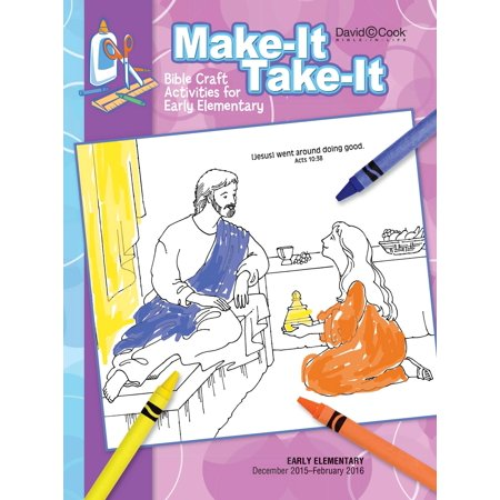Bible-In-Life/Reformation Press Winter 2018-2019: Early Elementary Make-It/Take-It (Craft Book) (#1023)](Preschool Winter Crafts)