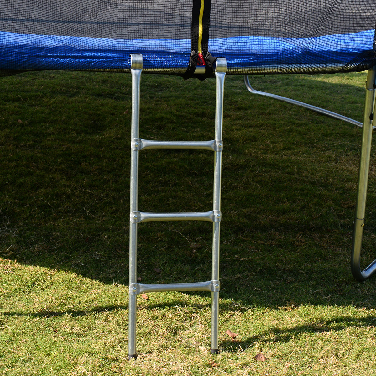 Goplus 15 Foot Trampoline, With Safety Enclosure And Ladder, Blue    Walmart.com