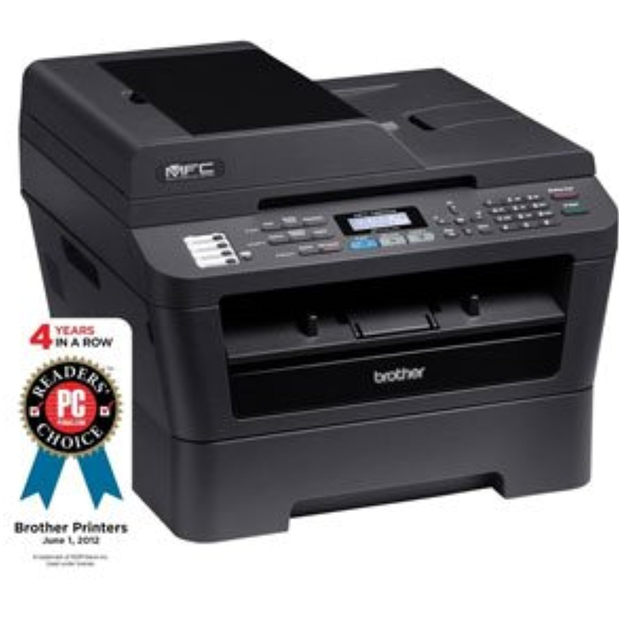 Refurbished Brother MFC-7860DW MFP All-in-One Multifunction Laser Printer by Brother