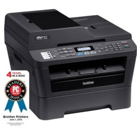 Refurbished Brother Mfc 7860dw Mfp All In One Multifunction Laser Printer