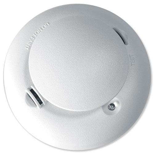 ESL by Interlogix 4-Wire Smoke & Heat Detector with Sound...