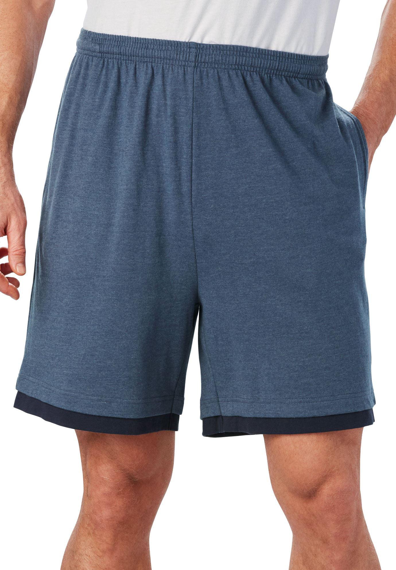 Men's Big & Tall Hangdown Lightweight Shorts