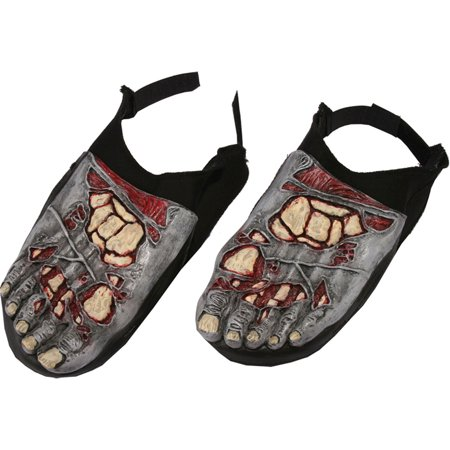Morris Costumes Adult Halloween Zombie Feet Covers Walking Dead Shoe, Style FW90136