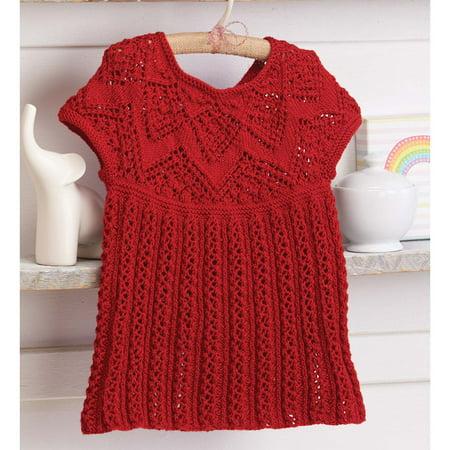 Girls Holly Frock Knit Pattern Walmart
