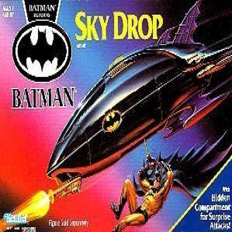 Batman Returns Sky Drop Airship Vehicle (1991 Kenner) by
