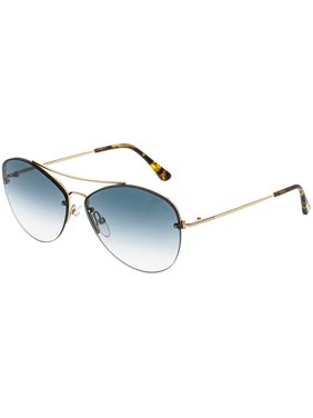 1739cde253279 Product Image Tom Ford Women s Gradient Margret FT0566-28W-60 Gold Aviator  Sunglasses