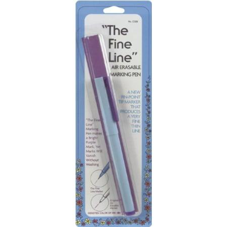 Fine Line Air Erasable Purple Marking Pen, Fine Line Air Erase Purple- Bright purple mark vanishes in thin air! By Collins