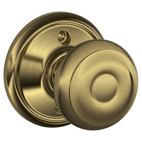 Knob Lockset,Mechanical,Dummy,Grd. 2 SCHLAGE F170 GEO 609