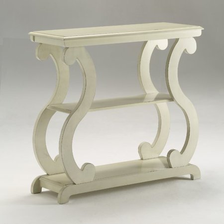 (Lucy Console Table Ivory)