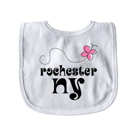 Rochester New York Butterfly Baby Bib White   One Size](Buy Buy Baby Rochester Ny)