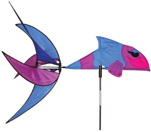 Premier 25323 Wind Garden Aquatic Life Wind Spinner, Tropical Fish by Premier Kites