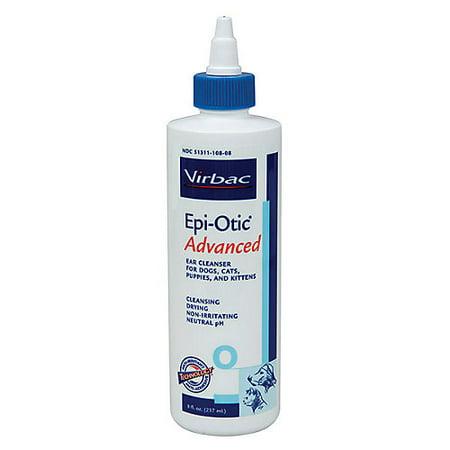 Virbac Epi-Otic Advanced Pet Ear Cleaner 8oz