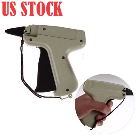 New Green Manual Tag Gun Clothes Garment Price Label Tagging Tag Plastic Gun Hello! Welcome to our store! Fashion design,100%  Brand New,high  quality!Quality is the first with best service. customers all are our friends. Specification: Material: PlasticSize:11*12cmNice tool for attaching cardboards/ brand labels/ price labels to clothes, garments, etc.Lightweight handheld operationWith safe needle cover and wrist strapWorks well with regular barbs, attachments and hook attachersWorks well with regular needlesQuantity:1Pc There is 2-3% difference according to manual measurement.please check the measurement chart carefully before you buy the item.1 inch = 2.54 cmPlease note that slight color difference should be acceptable due to the light and screen.What you get:1*Tag Gun