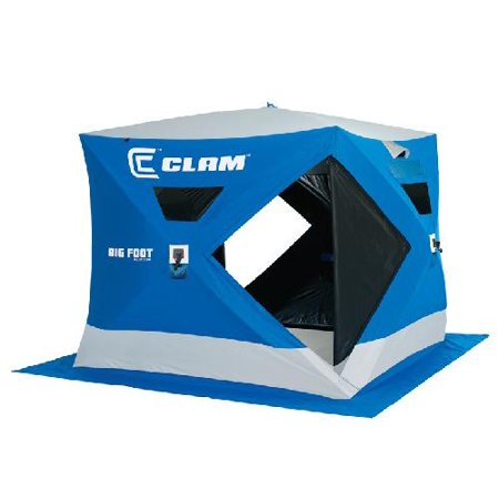Clam outdoor winter ice fishing 9128 pop up shelters for Walmart ice fishing