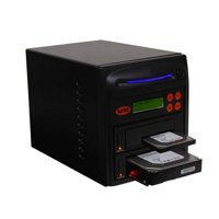 Produplicator SYS301DP Systor 1-1 SATA 2.5 & 3.5 in. Dual Port, Hot Swap Hard Disk & Solid State Drive Duplicator & Sanitizer