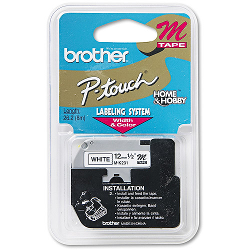 Brother M231 Laminated Tape