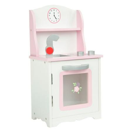 Olivias Little World - Little Princess 18u0022 Doll Furniture - Sweet Pink Kitchen