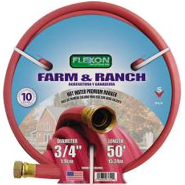 Flexon 701010C Hot Water Rub Hose .25 In. X50 Ft.